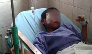 INSN-San Borja: brindan detalles del estado de salud de menor golpeado por su padre
