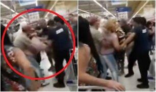 VIDEO: mujeres protagonizan épica pelea por última milanesa en oferta