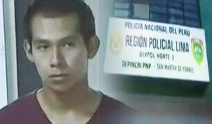 San Martín de Porres: detienen a sujeto acusado de secuestrar y violar a una menor