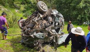 Fatal accidente de tránsito en Apurímac deja 8 muertos y varios heridos