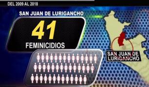 Entre el 2009 y 2018: sepa en qué distritos se registraron más casos de feminicidios