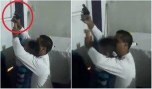 Insólito: hombre enseña a disparar a su hijo de cinco años [VIDEO]