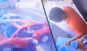 """La Molina: delincuentes se llevan moderna camioneta de """"CarWash"""""""