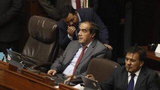 Congresistas rechazaron participación de Yonhy Lescano en Pleno Mujer