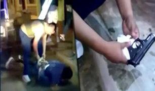 Cañete: capturan a miembros de peligrosa banda de raqueteros