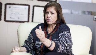 Lourdes Flores: investigan robo de su celular durante un mitin en el Centro de Lima
