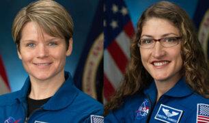 EEUU: primera caminata espacial de mujeres será el 29 de marzo