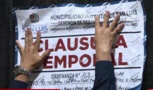 Ate Vitarte: desalojan a comerciantes que vendían pollos en la vía pública