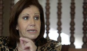 Lourdes Flores: Posiblemente estaré identificada en codinomes que revelará Barata