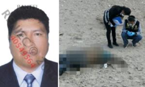 Sujeto que tenía orden de captura fue hallado muerto en Moquegua