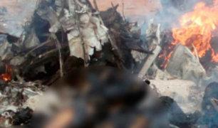 Colombia: avión con 12 personas se estrella sin dejar sobrevivientes