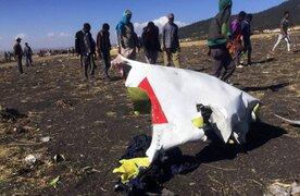 Etiopía: avión con 157 ocupantes a bordo se estrelló tras despegar