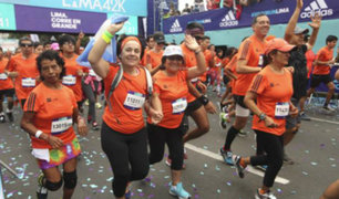 Hoy se realiza la maratón Lima Corre por Ellas