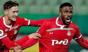 Peruanos por el extranjero: Jefferson Farfán anota su primer gol del año con Lokomotiv