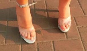 En carne propia: reportero se puso en los zapatos de una mujer y esto fue lo que vivió