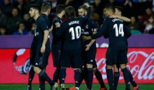 Fútbol internacional: Real Madrid golea 4-1 a Valladolid por la Liga Santander