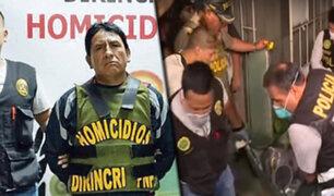 Acusado de los delitos de feminicidio y parricidio fue trasladado a Lima