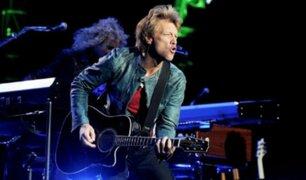 ¡Bon Jovi regresa a Perú después de 9 años!