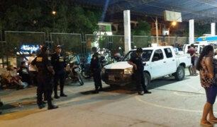 Piura: dos policías son heridos en una intervención en Sullana