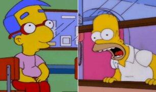 ''Milhouse Challenge'': conoce el nuevo reto viral inspirado en ''Los Simpsons''