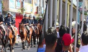 Gamarra: calles lucen sin ambulantes en las calles