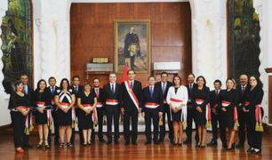 Salvador del Solar juramentó como presidente del Consejo de Ministros