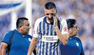 Alianza Lima: Mauricio Affonso es baja ante Inter de Porto Alegre