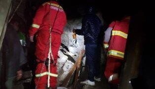 Huancavelica: niños de 7 y 8 años mueren sepultados por rocas tras fuertes lluvias