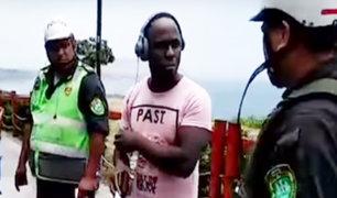 Miraflores: capturan a extranjero que asaltó local de conocida cafetería
