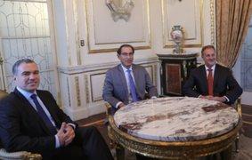 Presidente Vizcarra y Premier Del Solar se reunieron con alcalde Jorge Muñoz