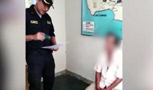 Piura: detienen a padre que presuntamente violó a su hija