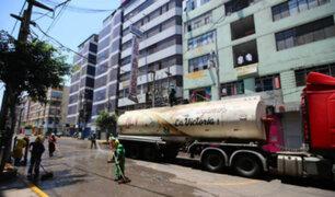Megaoperativo en Gamarra: calles lucen desiertas por tercer día consecutivo