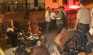 Cercado de Lima: denuncian retiro irregular de mobiliario de la embajada de Venezuela