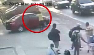 Mire el preciso instante del asesinato a un hombre en la Av. Venezuela