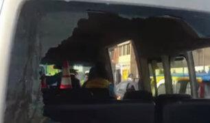 Miraflores: denuncian agresión a fiscalizadores durante traslado de cúster que adeudaba multa millonaria
