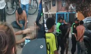 Vecinos de San Juan de Lurigancho toman medidas radicales para combatir a la delincuencia