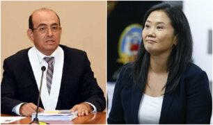Caso Odebrecht: designan a Víctor Zúñiga como juez a cargo del proceso contra Keiko Fujimori