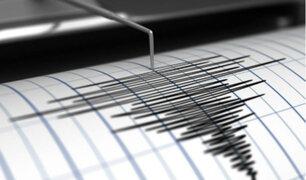 Fuerte sismo de 5.5 grados estremeció Huancavelica