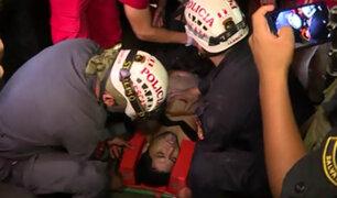 Chorrillos: rescatan a joven que se estaba ahogando en playa Marbella