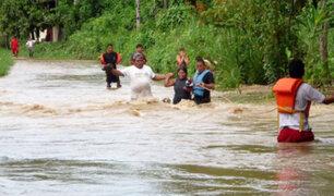 Huánuco: río Huallaga se desbordó por intensas lluvias