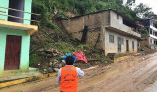 Piura: suspenden clases en colegios tras huaico en Ayabaca