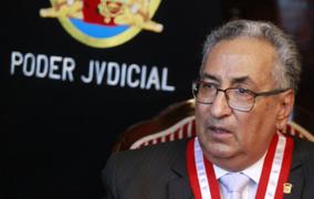 José Lecaros aclara que liberación de delincuentes no siempre es responsabilidad del PJ