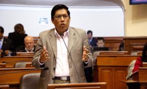 Ministro Zeballos se pronuncia sobre moción de interpelación que Pleno aprobó en su contra