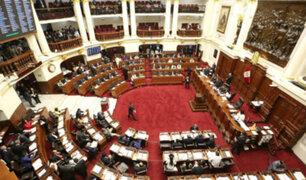 """Congresistas emiten pronunciamiento y aseguran que Semana de Representación puede ejercerse en el """"extranjero"""""""