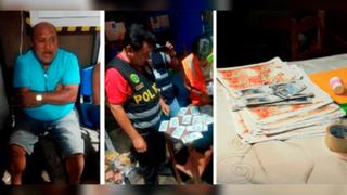 Incautan 160 mil soles en billetes falsos en Trujillo