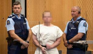 Nueva Zelanda: acusado de masacre en mezquitas desafiante ante tribunales