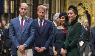Inglaterra: se separan duques de Cambridge y de Sussex