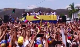 Venezuela: Guaidó emprende gira para lograr movilización hacia Caracas