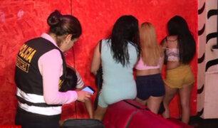Detienen a extranjeras que ejercían la prostitución en bares de SMP