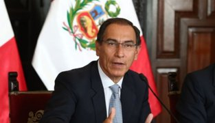 Ipsos Perú: respaldo a presidente Martín Vizcarra bajó a 56%